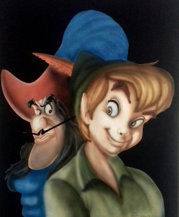 Uncino e Peter Pan
